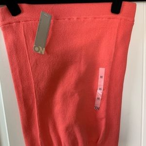 Old Navy Coral Strapless Top